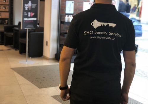 Sicherheitspersonal im Laden